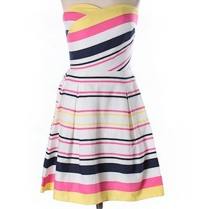 Lilly Pulitzer Strapless Dress Striped